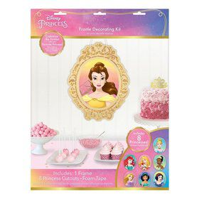 Once Upon A Time Glitter Wall Frame & Cutouts Decorating Kit