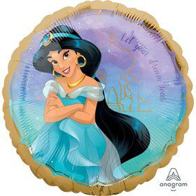 "Once Upon a Time Jasmine 17"" Foil Balloon"