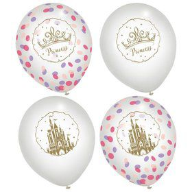 Once Upon A Time Latex Confetti Balloons (6ct)