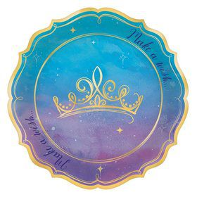 Once Upon A Time Metallic Dessert Plates (8)