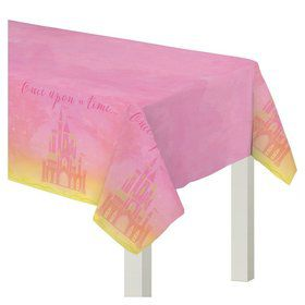 Once Upon A Time Plastic Table Cover