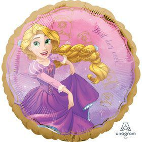 "Once Upon a Time Rapunzel 17"" Foil Balloon"