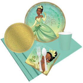 Once Upon a Time Tiana Party Pack for 8