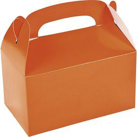 Orange Treat Favor Boxes (12 Pack)