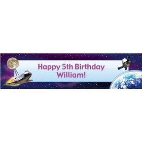 Outer Space Personalized Banner (each)