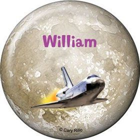 Outer Space Personalized Button (each)