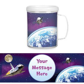Outer Space Personalized Favor Mugs (Each)