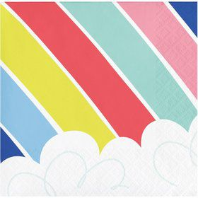 Over the Rainbow Beverage Napkin (16)