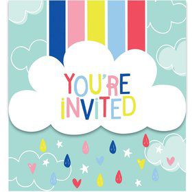 Over the Rainbow Invitations (8)