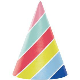 Over the Rainbow Party Hats (8)