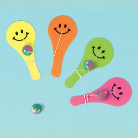 Paddle Ball Favors (10 Count)