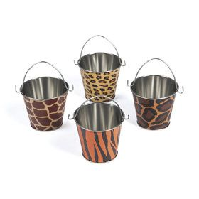 Paradise Safari Tin Pails (12)