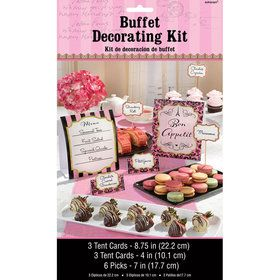 Paris Buffet Decorating Kit (12)