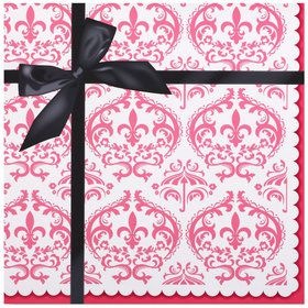 Paris Damask Lunch Napkins (20)