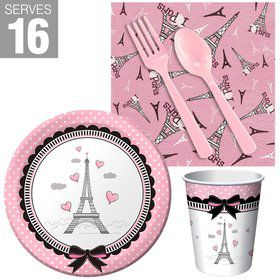 Paris Party Snack Pack For 16