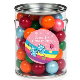 Party Bows Personalized Paint Cans (6 Pack)