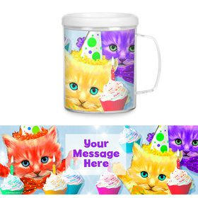 Party Cats Personalized Favor Mug (Each)