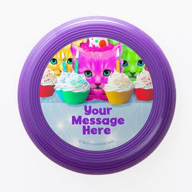 Party Cats Personalized Mini Discs (Set of 12)
