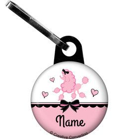 Party in Paris Personalized Zipper Pull (Each)
