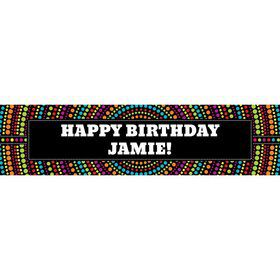 Party On Personalized Banner (Each)