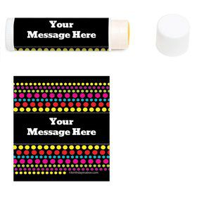 Party On Personalized Lip Balm (12 Pack)