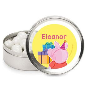 Party Pig Personalized Mint Tins (12 Pack)