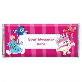 Partykin Personalized Candy Bar Wrapper (Each)