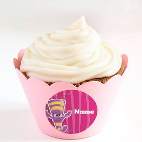 Partykin Personalized Cupcake Wrappers (Set of 24)
