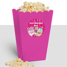Partykin Personalized Popcorn Treat Boxes (10 Count)