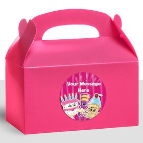 Partykin Personalized Treat Favor Boxes (12 Count)
