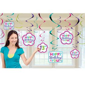 Pastel Customizable Foil Swirl Decoration Kit