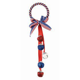 Patriotic 5 Bell Door Hanger