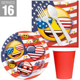 Patriotic Emoji Snack Pack for 16