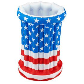 "Patriotic Inflatable 17"" x 26"" Cooler"
