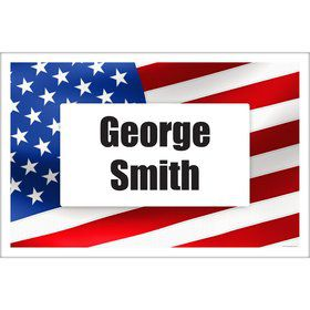 Patriotic Personalized Placemat (Each)