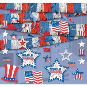 Patriotic Room Decorating Kit (Each)
