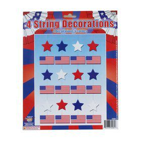 Patriotic String Decoration