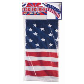 "Patriotic Tablecover 54"" x 108"""