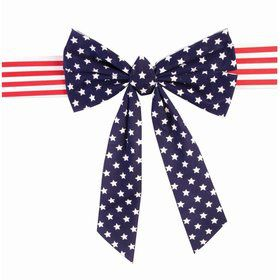 Patriotic Velvet Chair Bow (1)