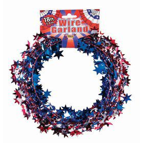 Patriotic Wire Garland