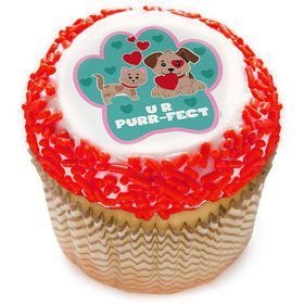 "Paw-fect 2"" Edible Cupcake Topper (12 Images)"