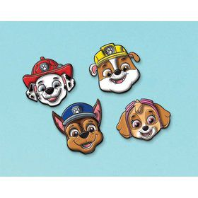 Paw Patrol Adventures Character Stickies Favors (4)