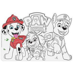 Paw Patrol Adventures Color-In Placemats (8)