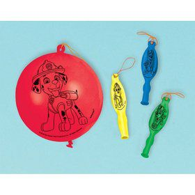 Paw Patrol Adventures Punch Balloon Favors (4)