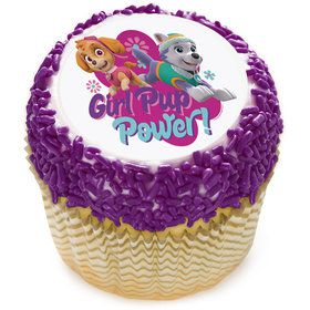 "Paw Patrol Girl Pup Power 2"" Edible Cupcake Topper (12 Images)"