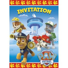 Paw Patrol Invitations (8 Pack)