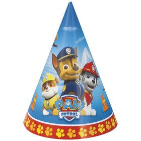 Paw Patrol Party Hats 8 Pack