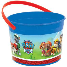 Paw Patrol Plastic Favor Container (Each)