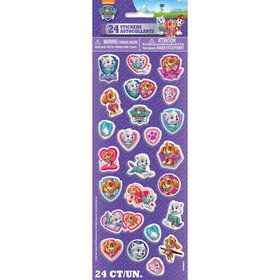 Paw Patrol Puffy Sticker Sheet (Each)