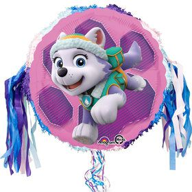 Paw Patrol Skye and Everest Birthday Pull String Pinata